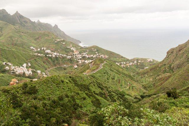 Горная деревенька, Тенерифе