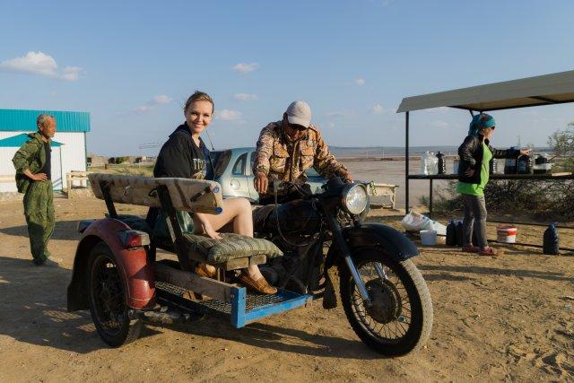 Мото-такси к озеру Баскунчак