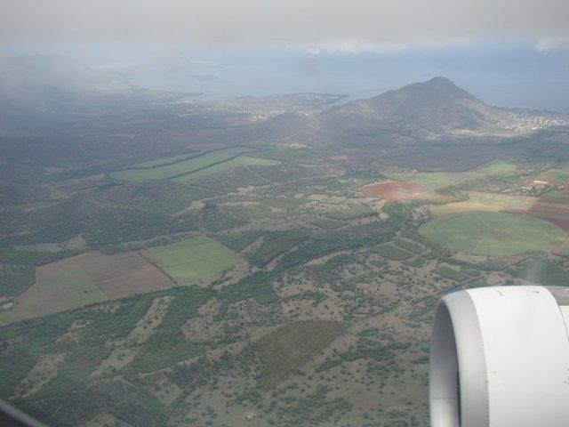 Над Маврикием