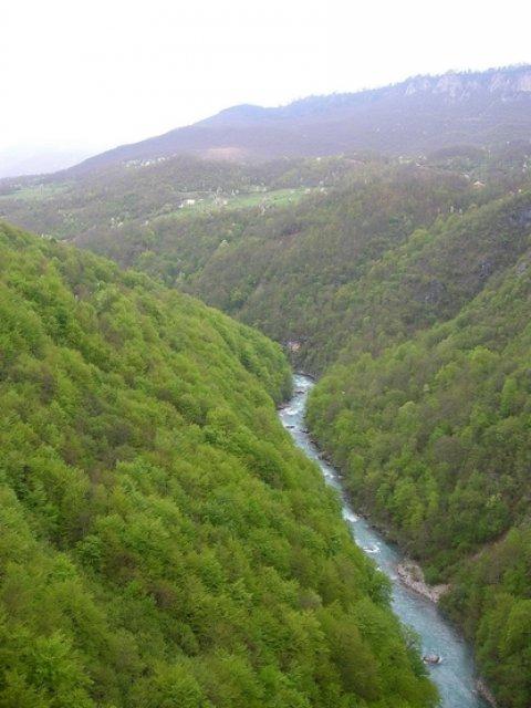 Тара Каньон, Черногория