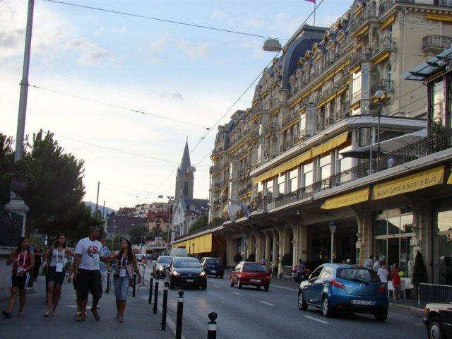 отель Montreux Palace, Монтрё