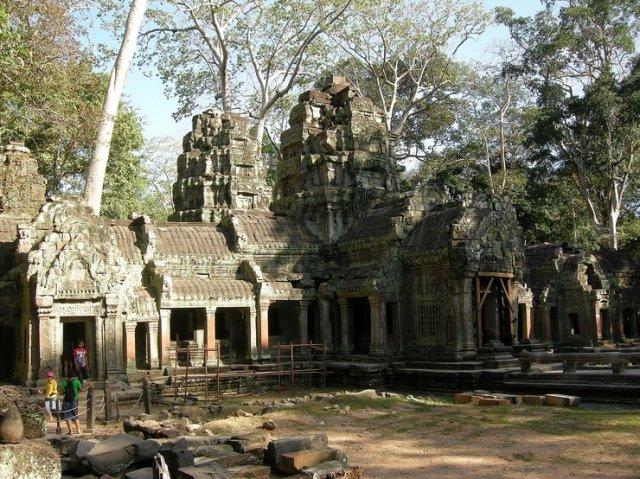 Та Пром, Камбоджа