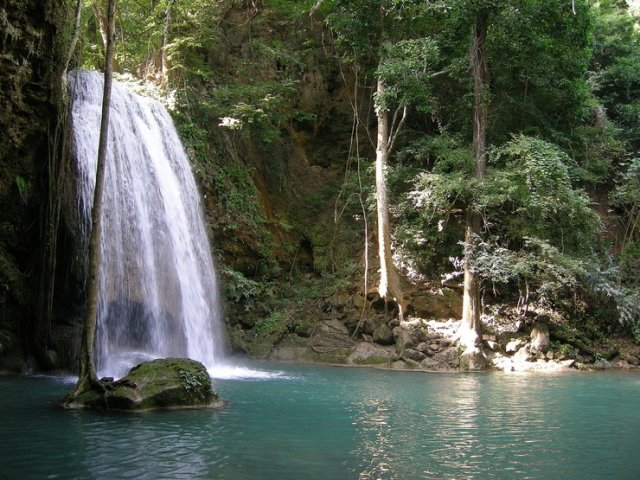Водопад Эраван в Канчанабури