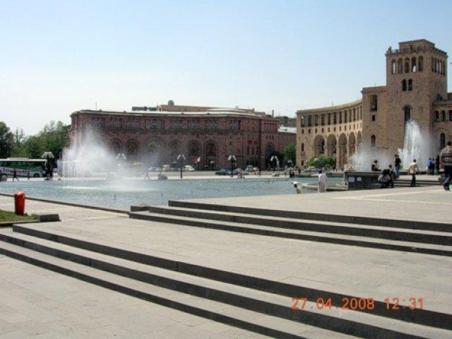 Площадь Республики, Ереван, Армения