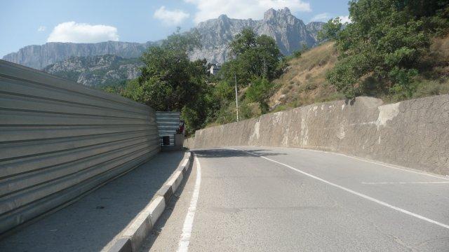Горная дорога, Крым
