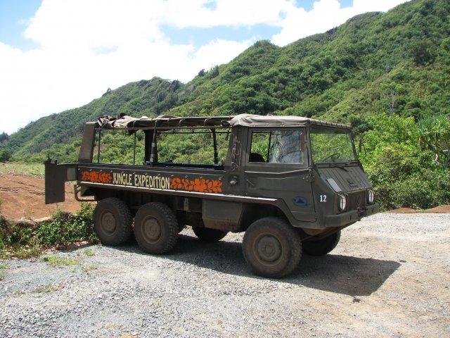 экскурсия на 6-ти колесном джипе в Джунглий, Гавайи