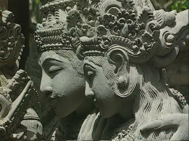 Каменная скульптура из Батубулан, остров Бали