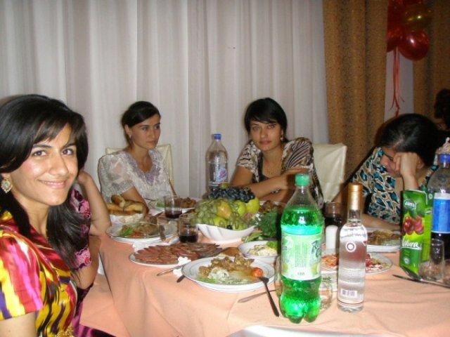 Свадьба, Таджикистан