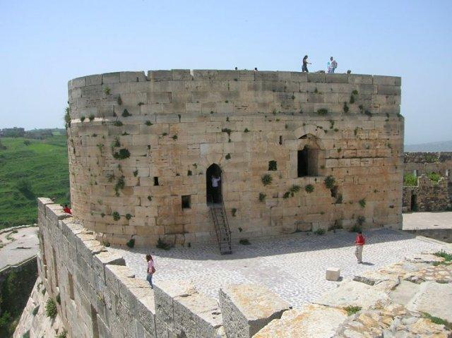 Крак де Шевалье, Сирия