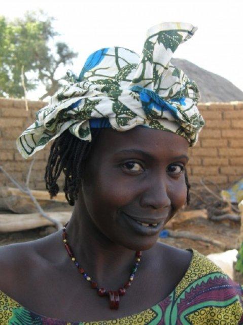 Местная женщина, Мали