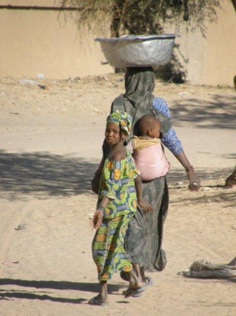 Местные жители Мали