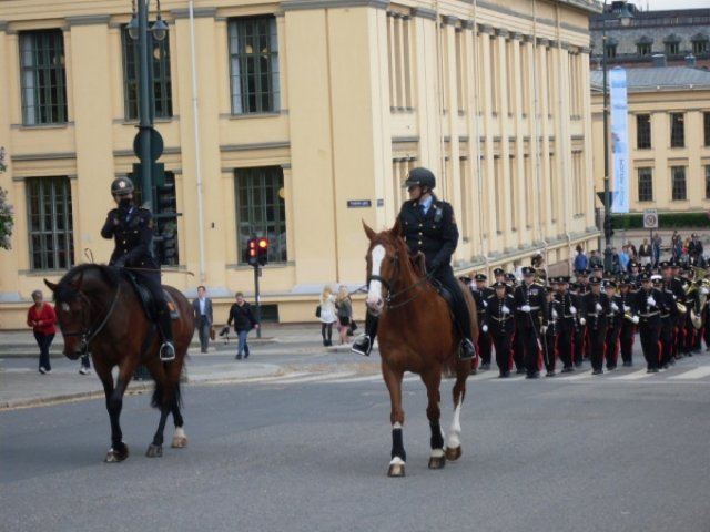 Осло. Королевские гвардейцы