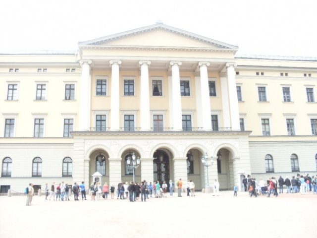 Осло. Королевский дворец