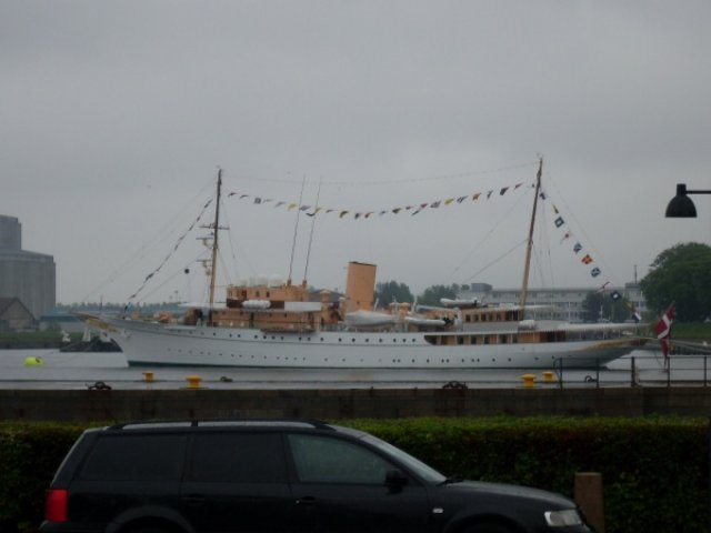 Копенгаген. Яхта королевы Маргреты