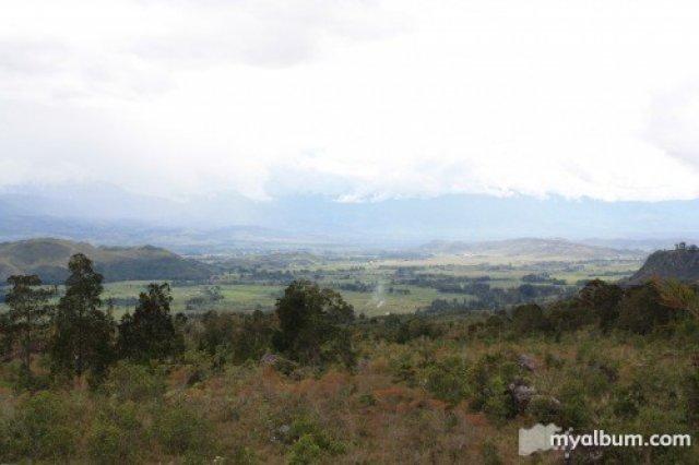 Вид на долину Балием