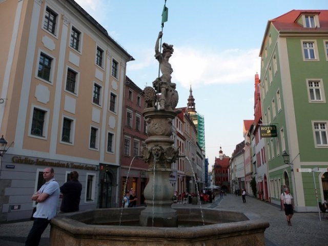 Площадь в Гёрлице, Германия