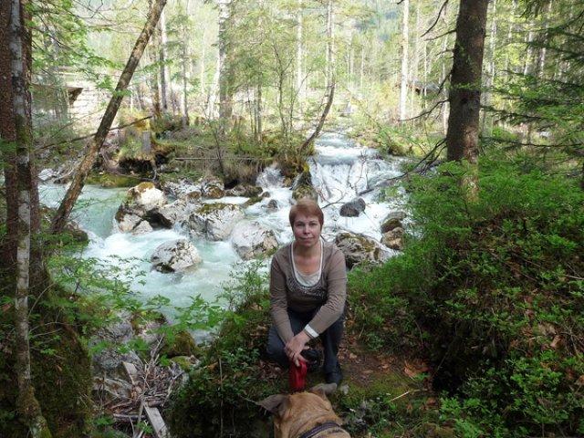 Водопад у Хинтерзее