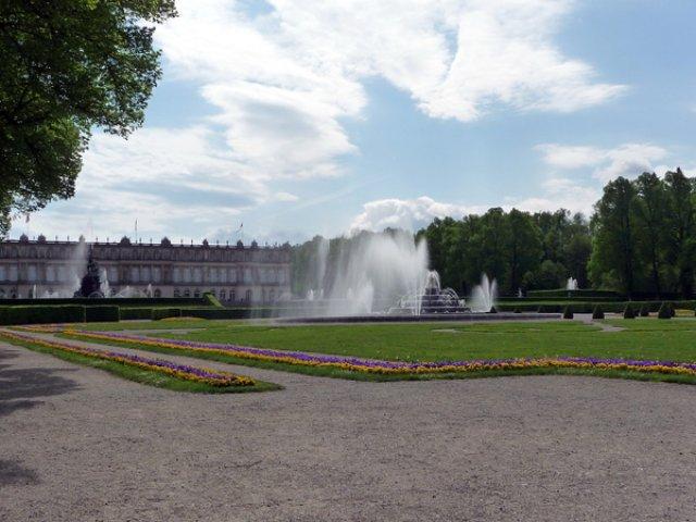 Парк дворца