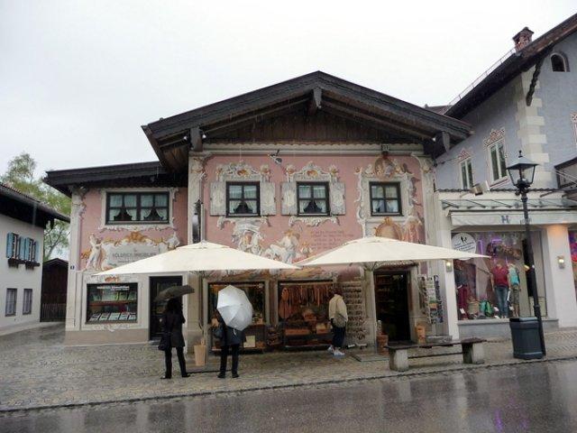 Расписные дома Обераммергау