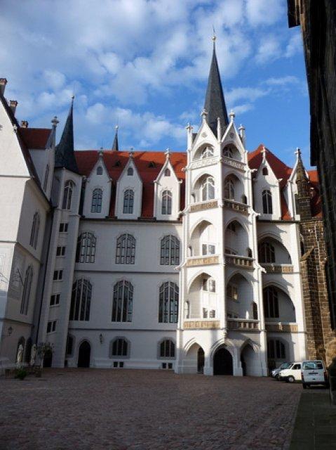 В замке Альбрехтсбург