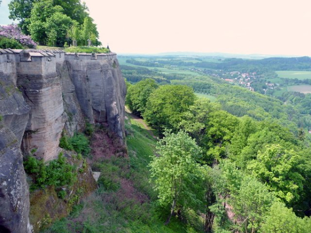 Вид с бастионов крепости