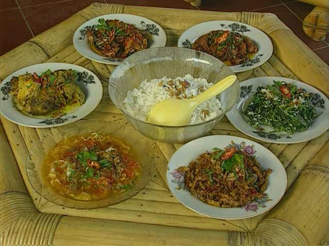 Местная кухня острова Бали
