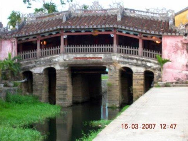 Хойан, японский мост, Вьетнам
