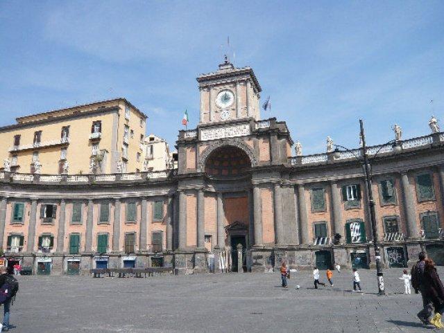 Площадь Данте, Неаполь, Италия