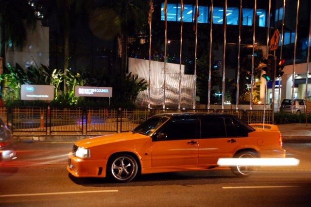 Ночная прогулка по Куала-Лумпур, Малайзия