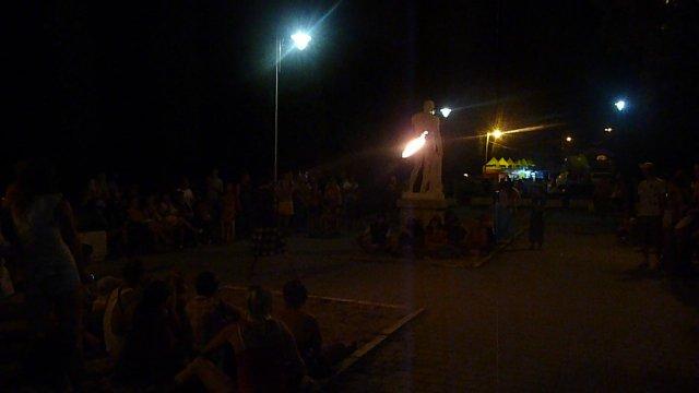 Шоу с огнем, Крым