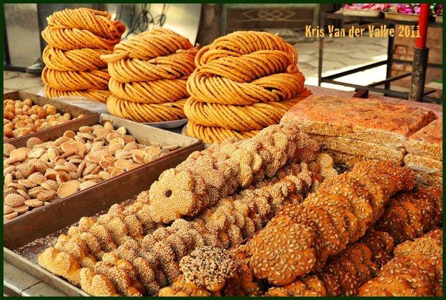 Уйгурские сладости. Всё свежее, ручной работы