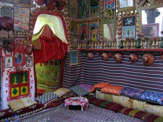 Традиционная обстановка дома в старом городе Гадамеса, Ливия