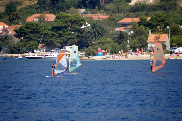 Виндсерфинг на Адриатике, Хорватия