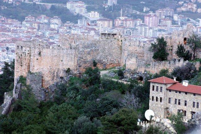 Древняя крепость Аланья, Турция