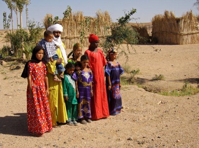 Местные жители Алжира