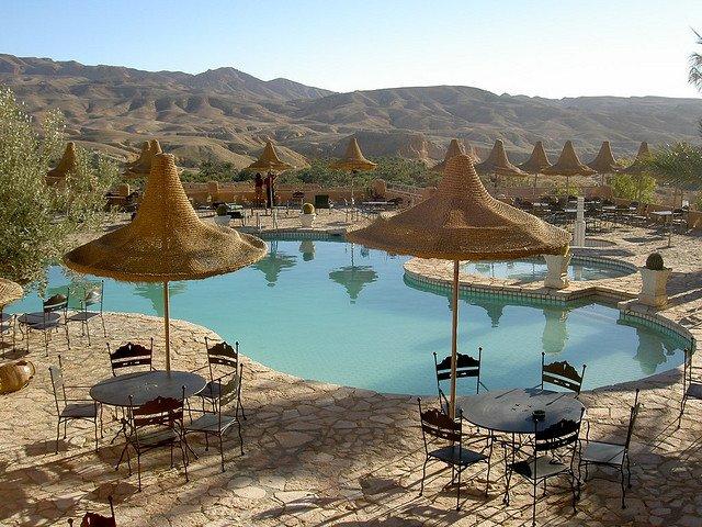 Отель Tamerza Palace, Тунис