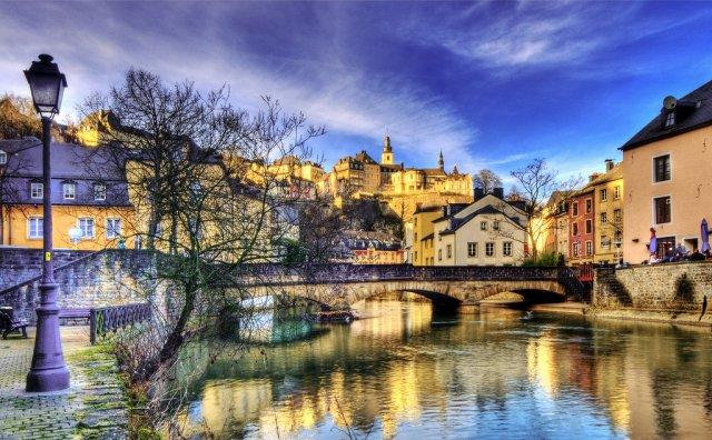 Река Альзет, Люксембург