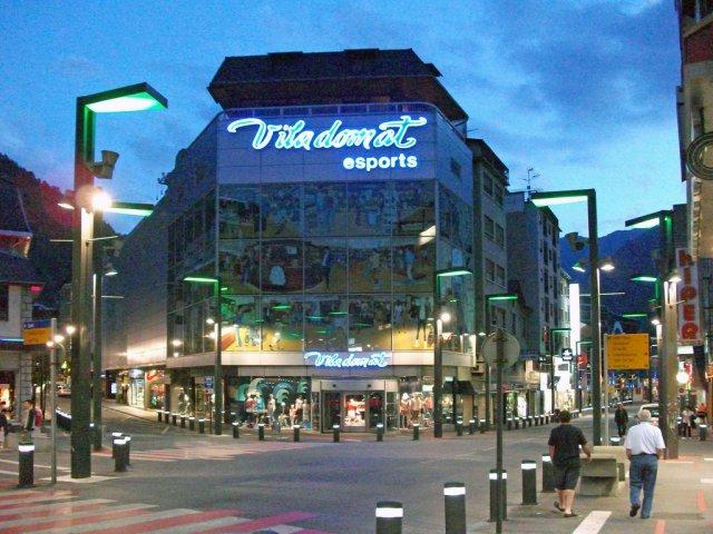 Андорра-ла-Велла - столица Андорры