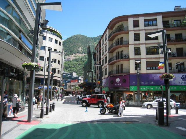 Центр города Андорра-Ла-Велла