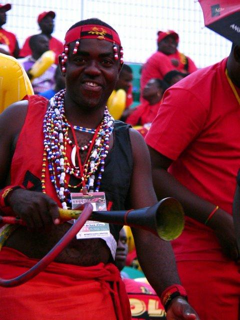Футбольные фанаты, Ангола