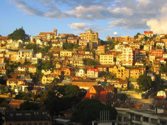 Город Антананариву, Мадагаскар