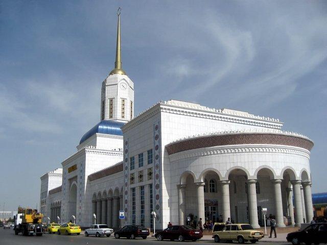 Вокзал Ашхабада, Туркменистан