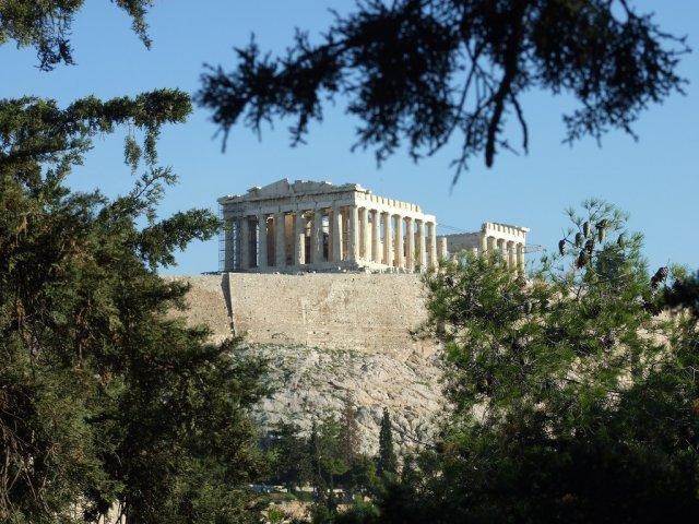 Акрополь в Афинах, Греция