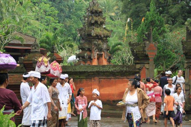 Местные жители Бали
