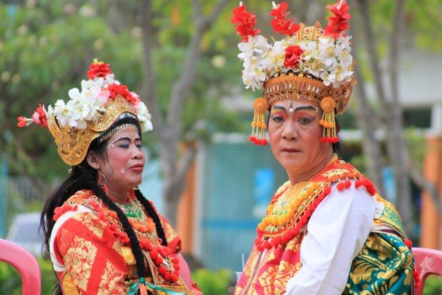Традиционный танец, Бали