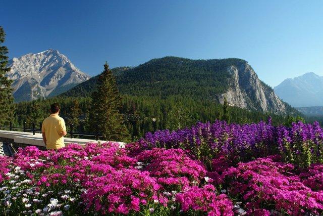 Весна в Канаде, Национальный парк Банф