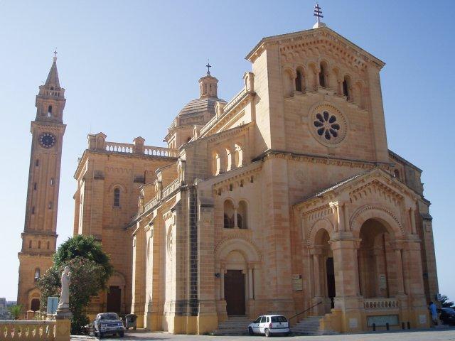 Базилика Та'Пину, Гозо, Мальта