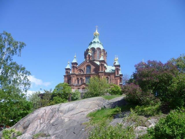 Красивая церковь, Хельсинки, Финляндия