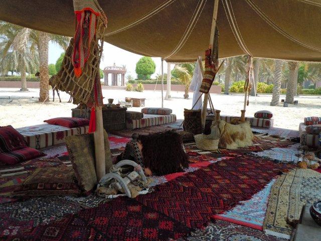 Бедуинская палатка, Абу-Даби, ОАЭ