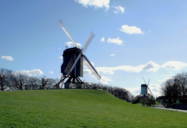 Сельские пейзажи Бельгии